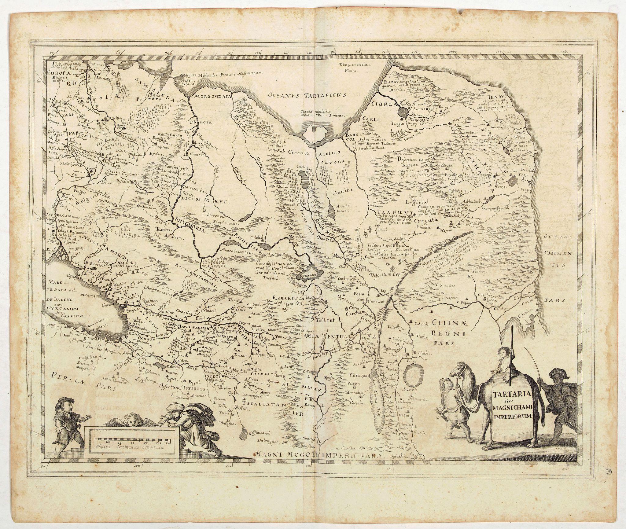 MERIAN, M. -  Tartaria sive Magnichami Imperiorum.
