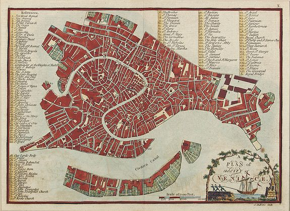 ANDREWS, J. -  A plan of the city of Venice.