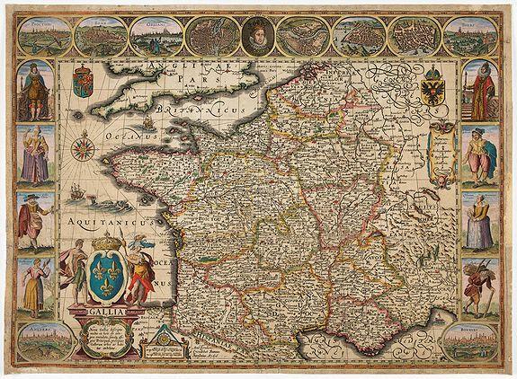 JANSSONIUS, J. -  Gallia. Nova Galliae descriptio . . .