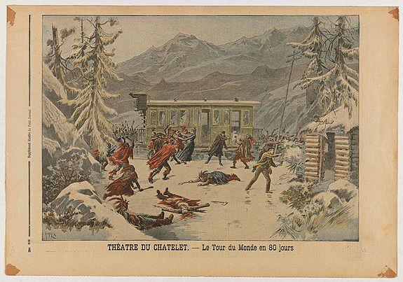 LE PETIT JOURNAL ILLUSTRE -  Le Petit Journal Illustré N°382 - Attentat contre le roi de Grece - Théatre du Chatelet: Le Tour du Monde en 80 jours.