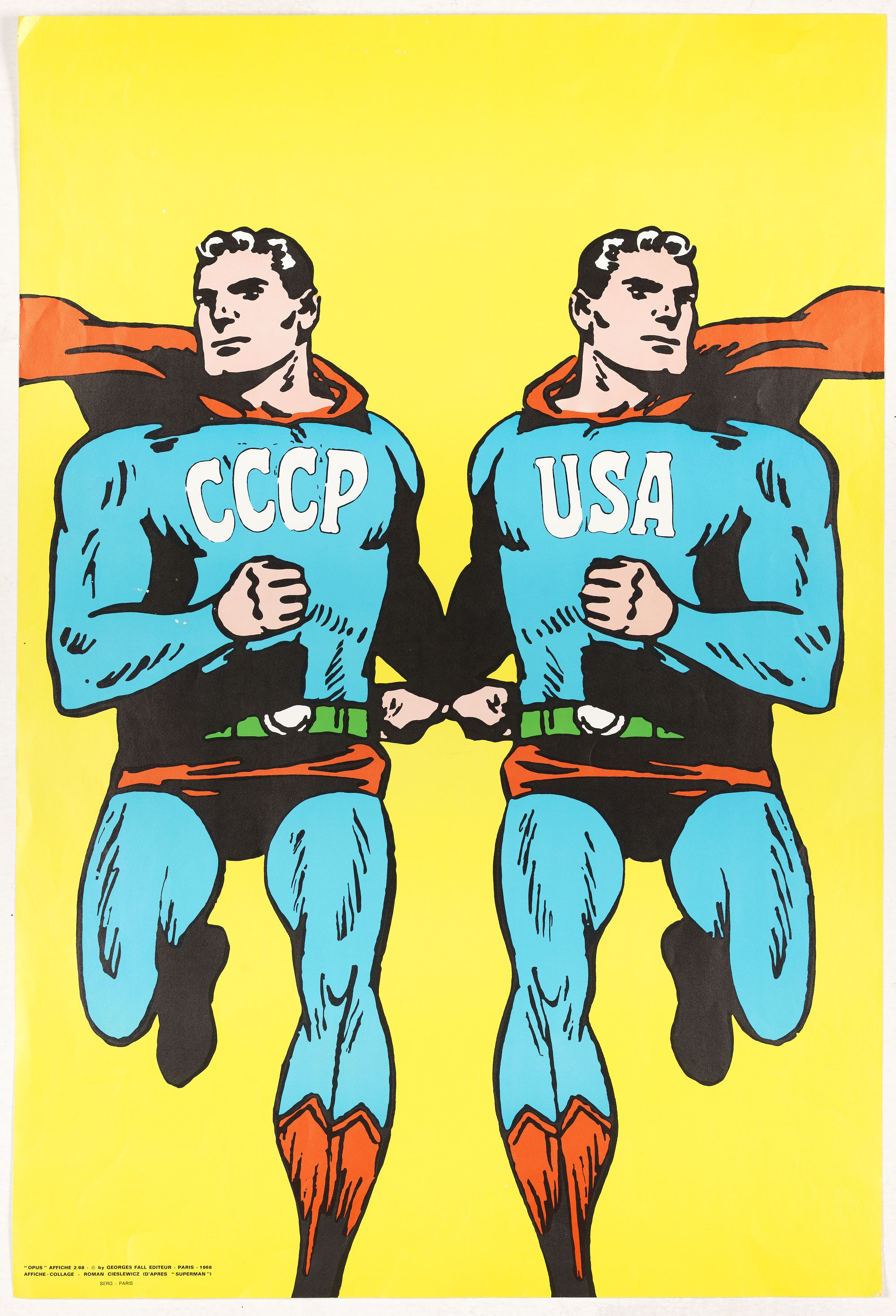 CIESLEWICZ, R. -  CCCP/USA, 1966