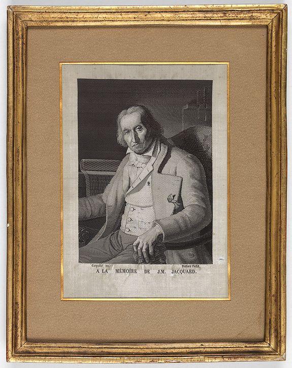 PETIT, Didier / CARQUILLAT. -  (Portrait of Joseph-Marie Jacquard).
