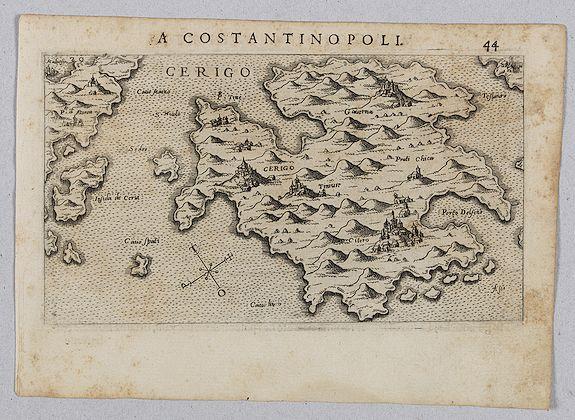 ROSACCIO, Giuseppe. -  [View of Cerigo]