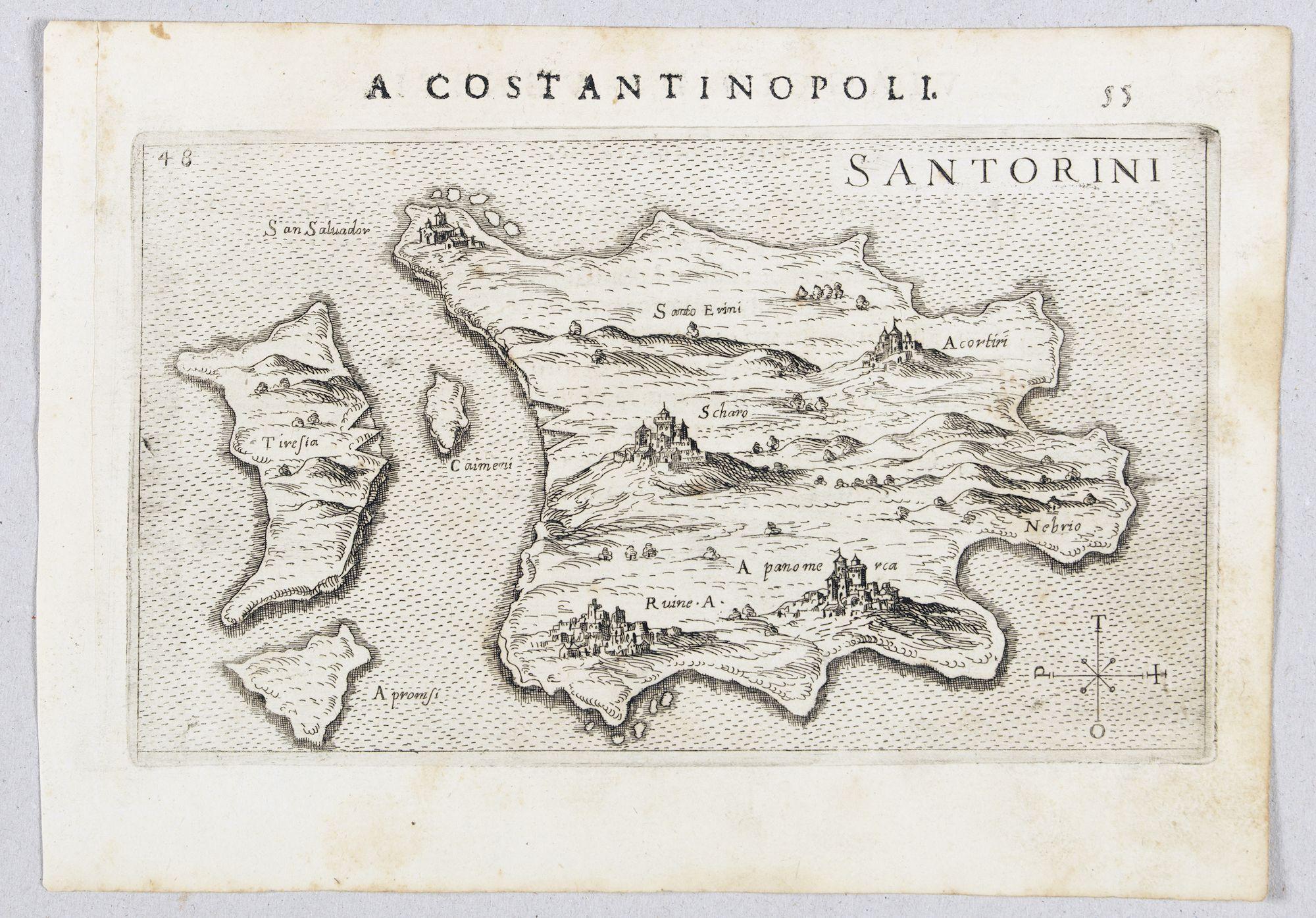 ROSACCIO, Giuseppe. -  Santorini.