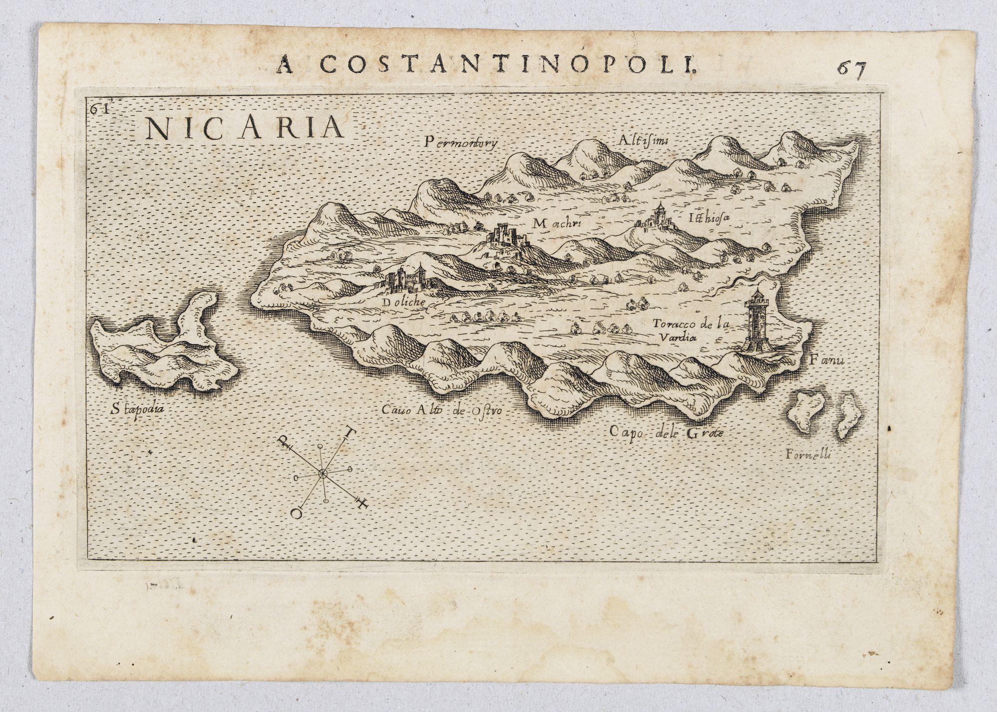 ROSACCIO, Giuseppe. -  Nicaria. (Icaria)