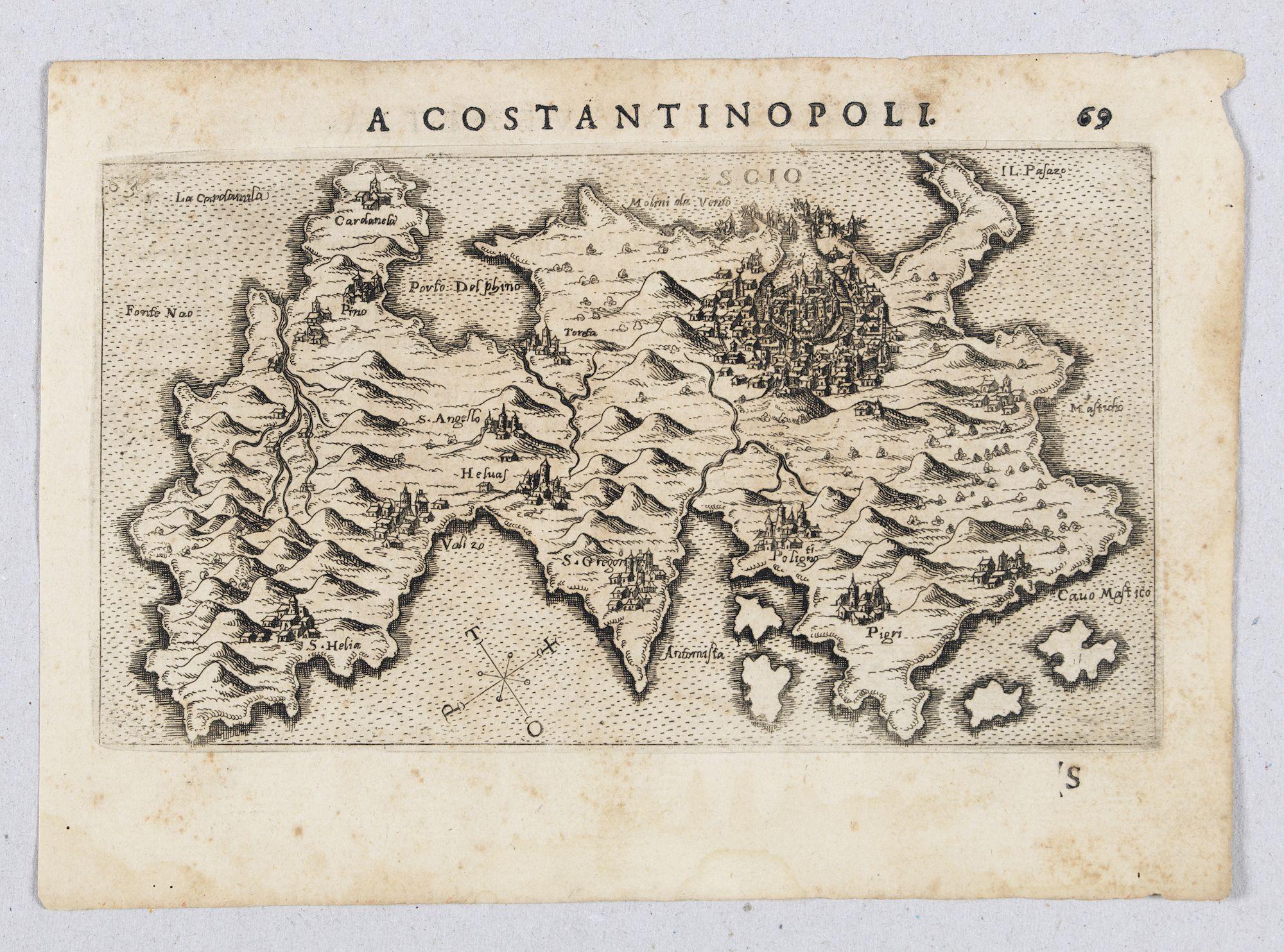 ROSACCIO, Giuseppe. -  Scio.  (Chios)
