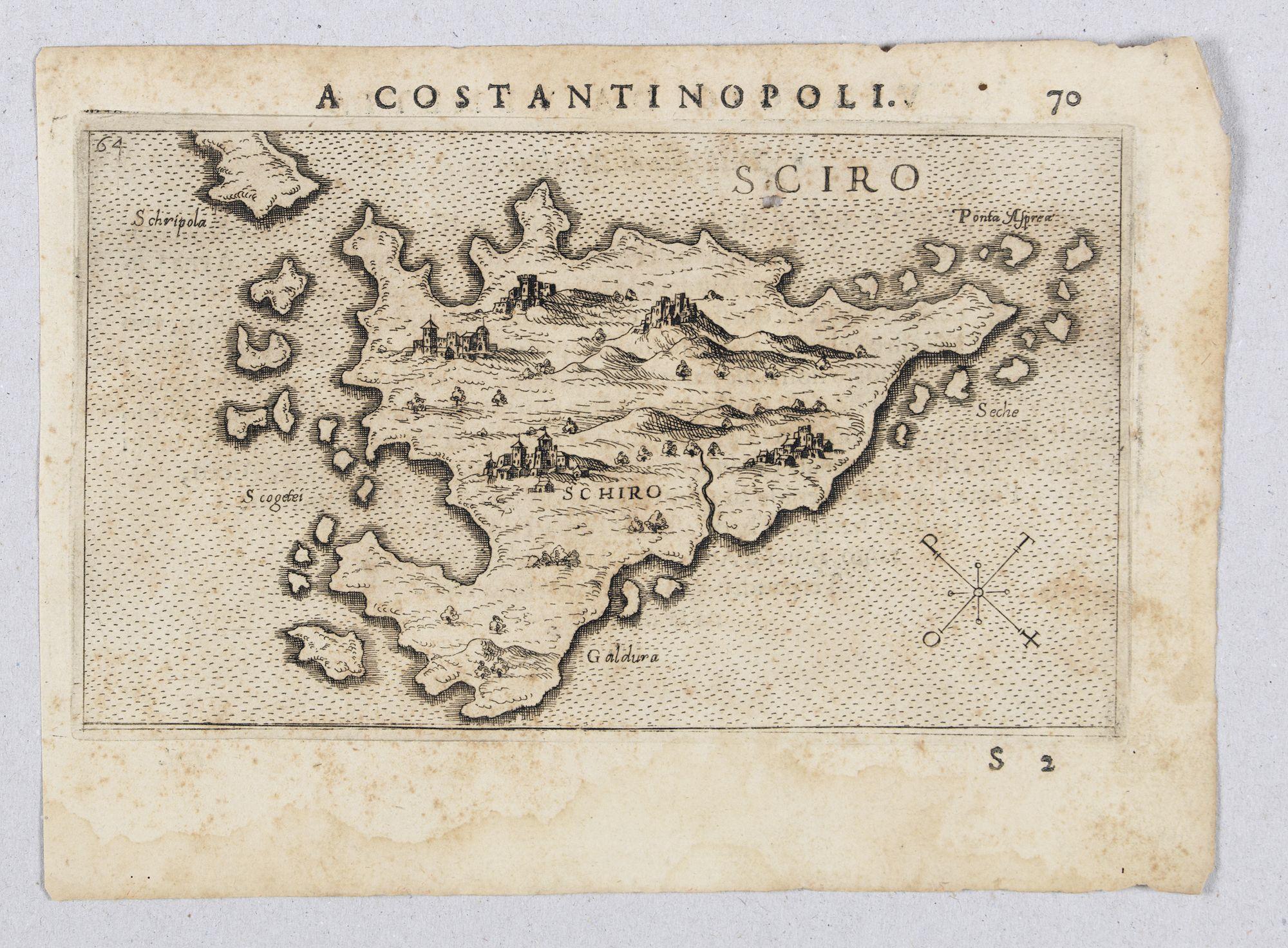 ROSACCIO, Giuseppe. -  Sciro. (Skyros)