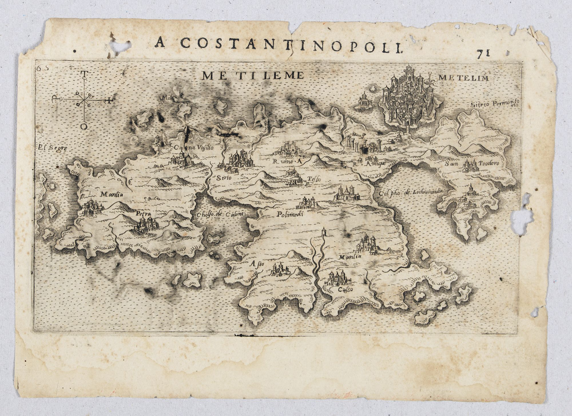 ROSACCIO, Giuseppe. -  Metileme. (Lesbos)