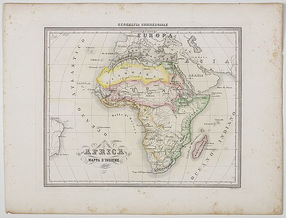 MARMOCCHI, F.C. -  Africa Mappa d'Insieme.