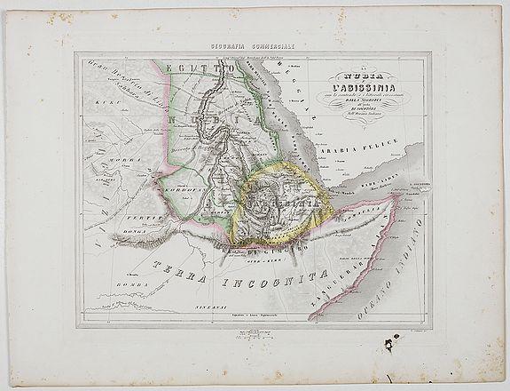 MARMOCCHI, F.C. -  La Nubia E l'Abissinia . . .