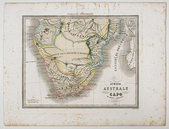 MARMOCCHI, F.C. -  Africa Australe E Capo di buona Speranza.