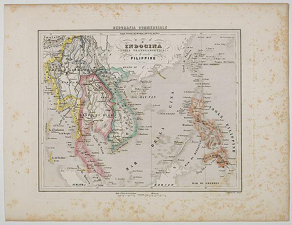 MARMOCCHI, F.C. -  L'Indocina India Transgangetica e le Isole Filippine.