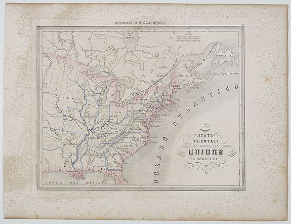 MARMOCCHI, F.C. -  Stati Orientali della Unione Americana.