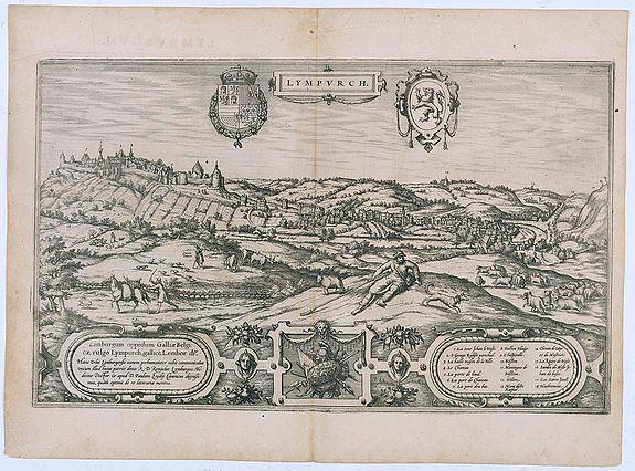 BRAUN,G. / HOGENBERG, F. -  Lympurch. (Limburg)