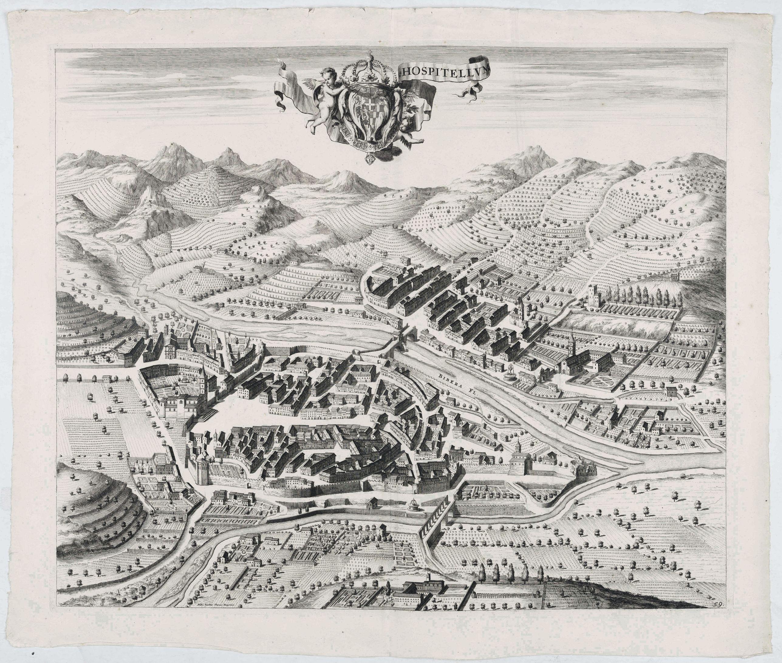 BLAEU, J. -  Hospitelum.