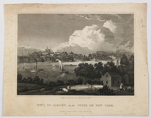 FISHER & SON. - City of Albany, in the State of New York.