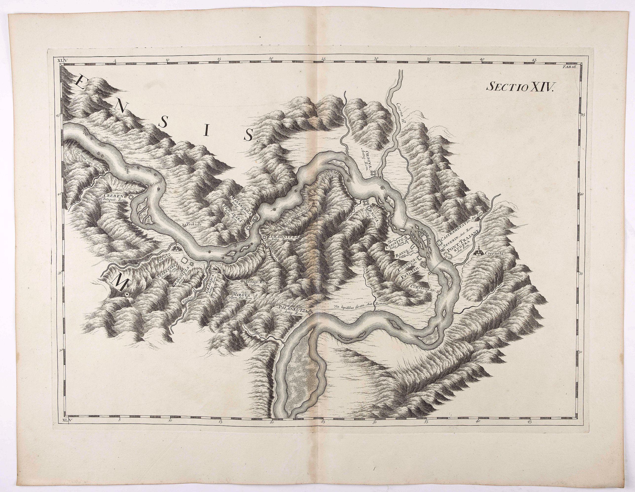 MARSILI, L.F. - Sectio XIV.