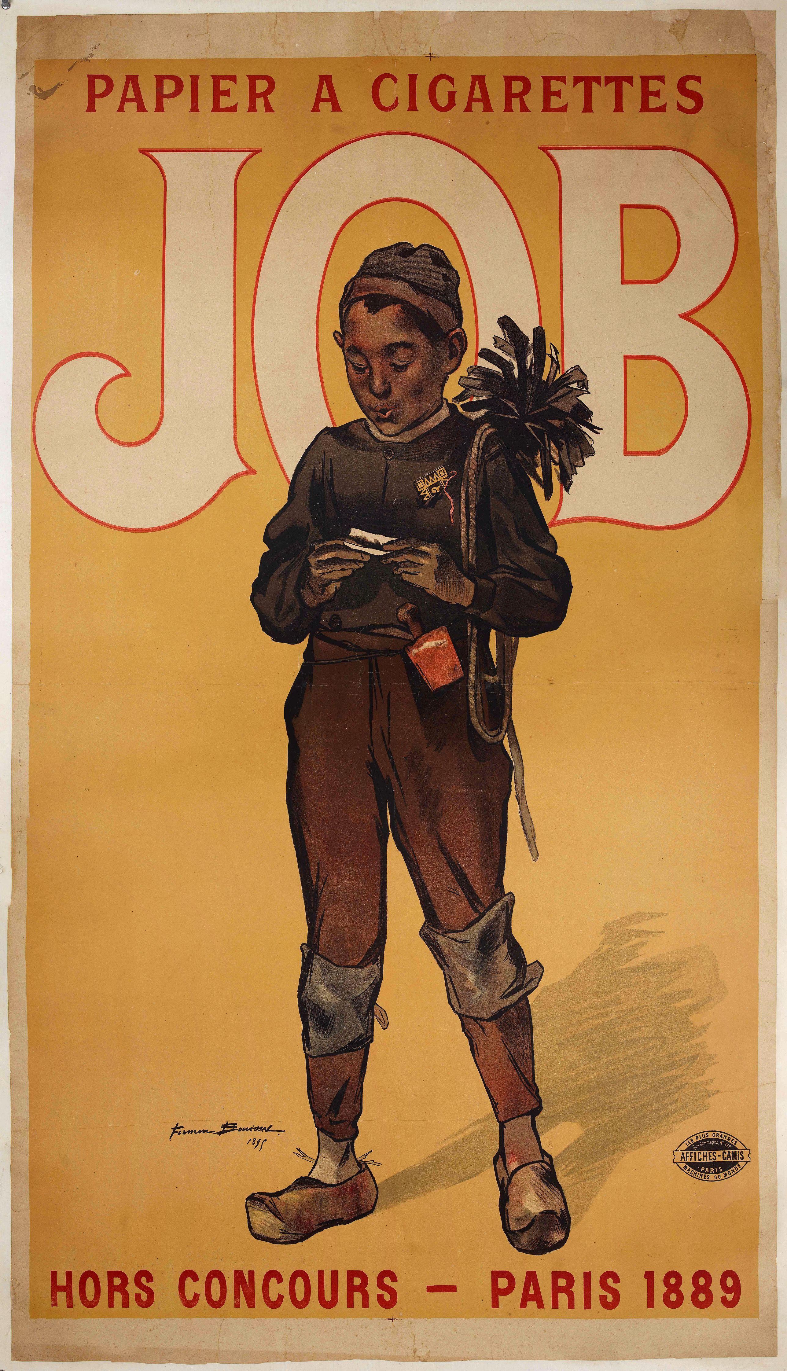 BOUISSET, F. -  Papier a cigarette JOB