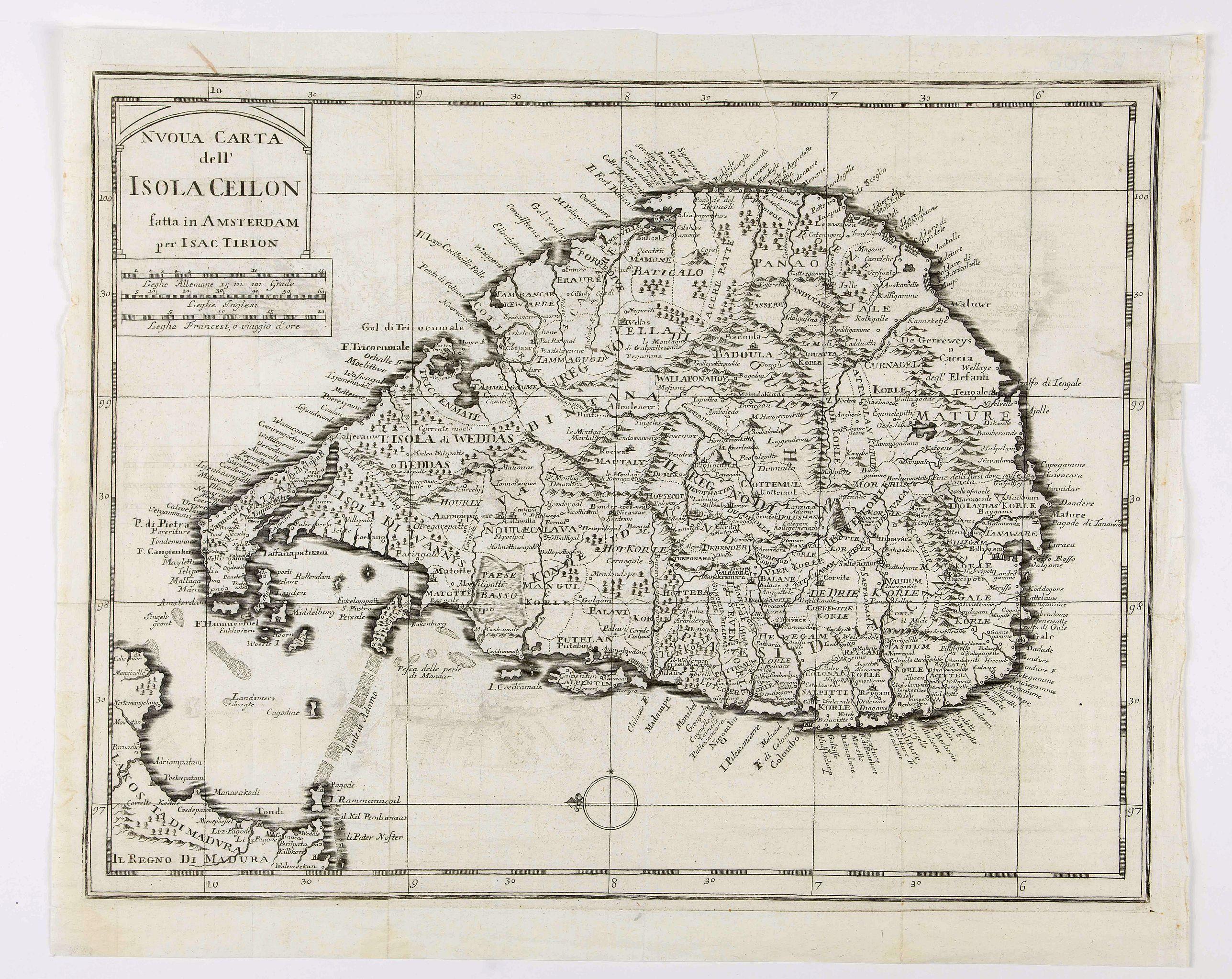 ALBRIZZI, G.B. - Isola Ceilon.