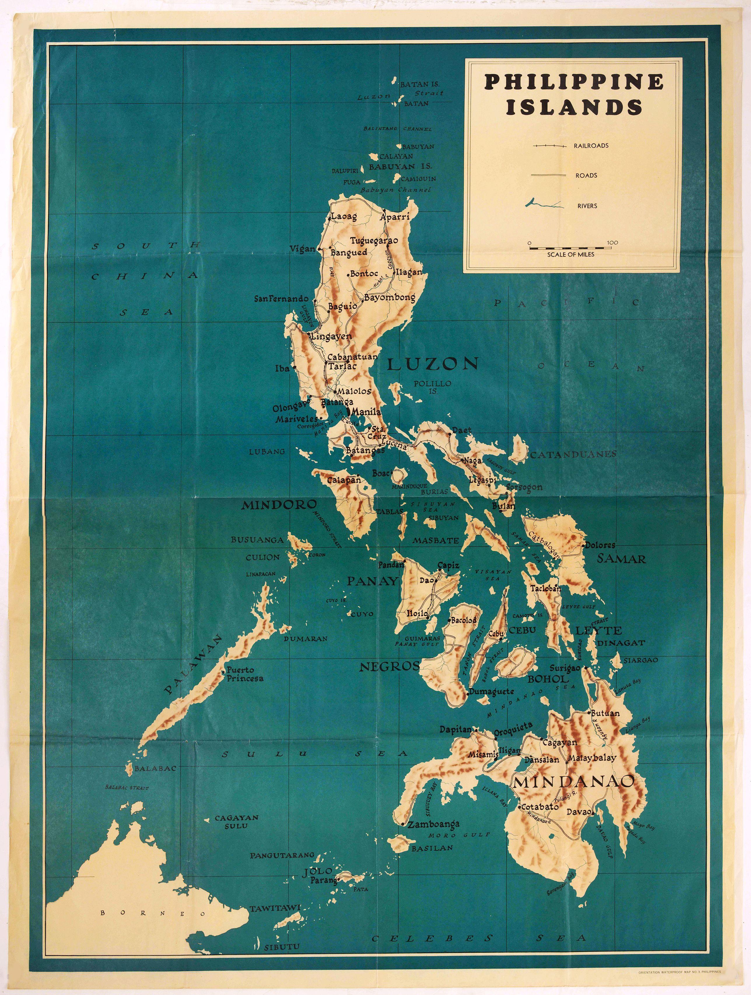 ANONYMOUS -  Philippines Islands.