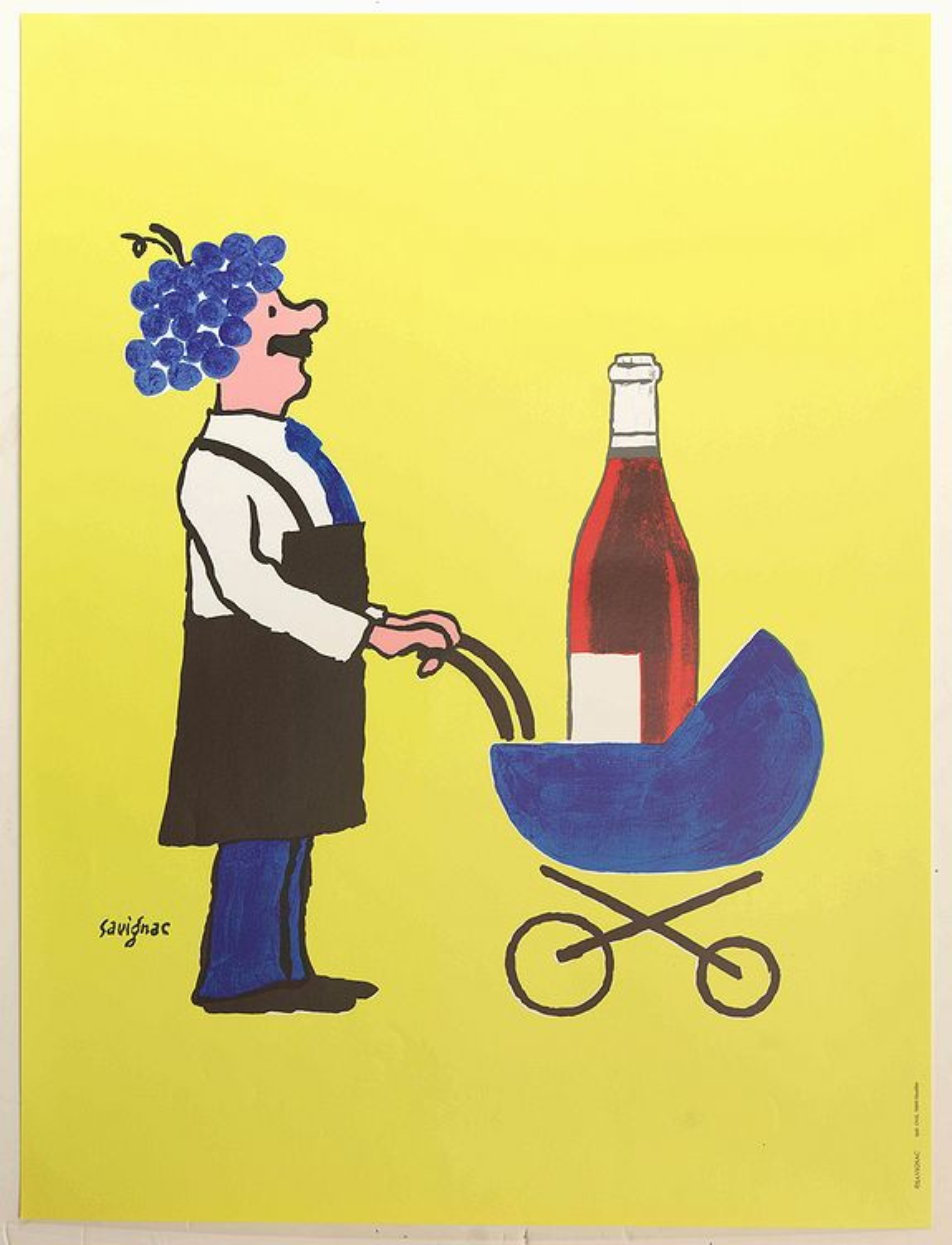 SAVIGNAC, R. -  Buvons ici le Vin Nouveau - avant lettre
