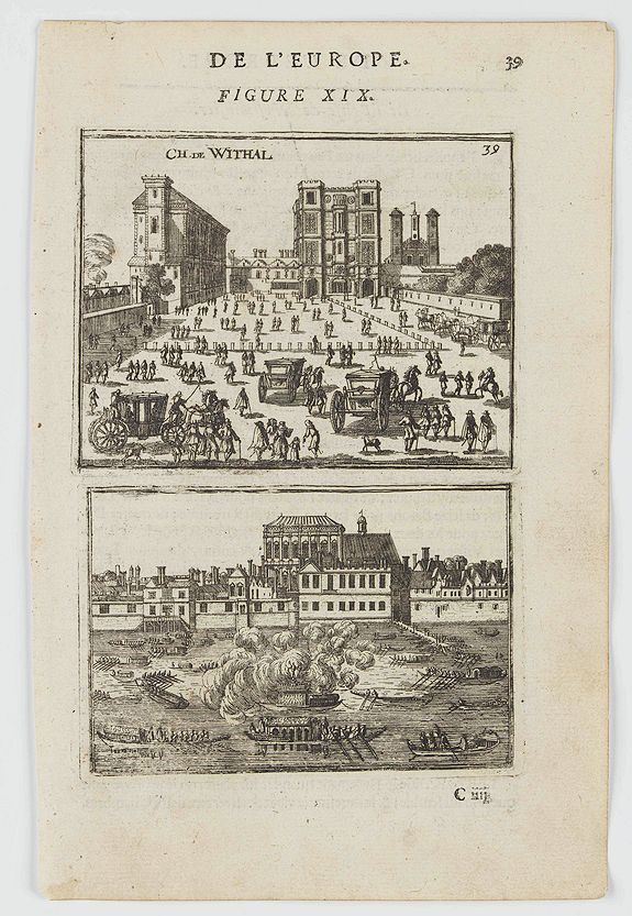 MANESSON MALLET, A. -  Ch. De Withal. (Withal Castle)