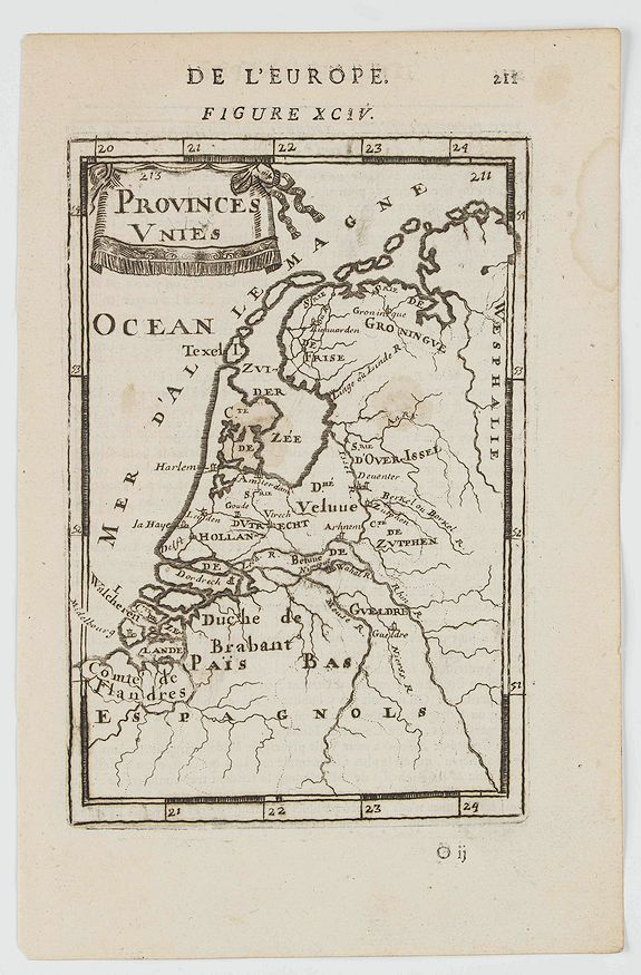 MANESSON MALLET, A. -  Provinces Unies.