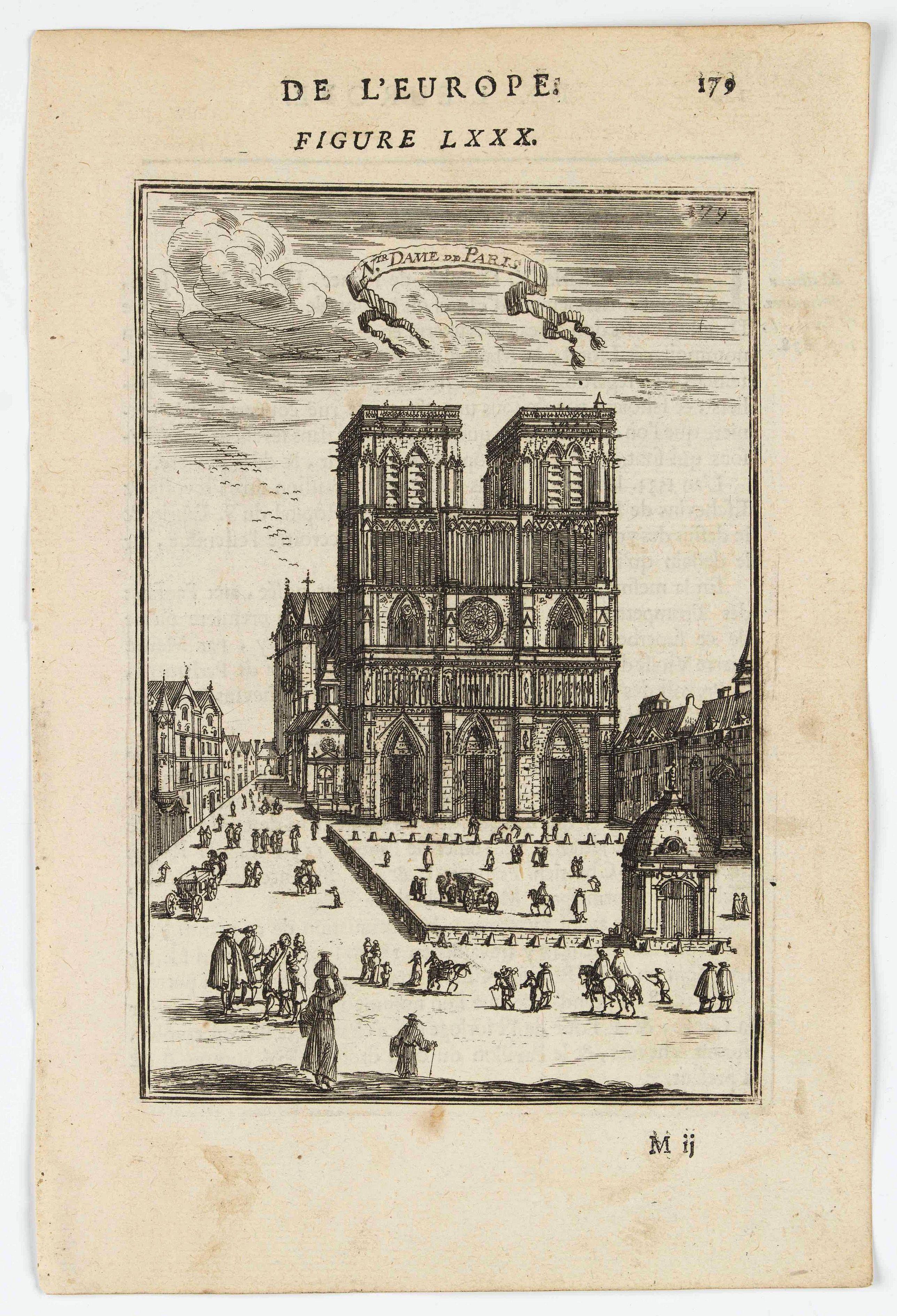 MANESSON MALLET, A. -  N.tre Dame de Paris.