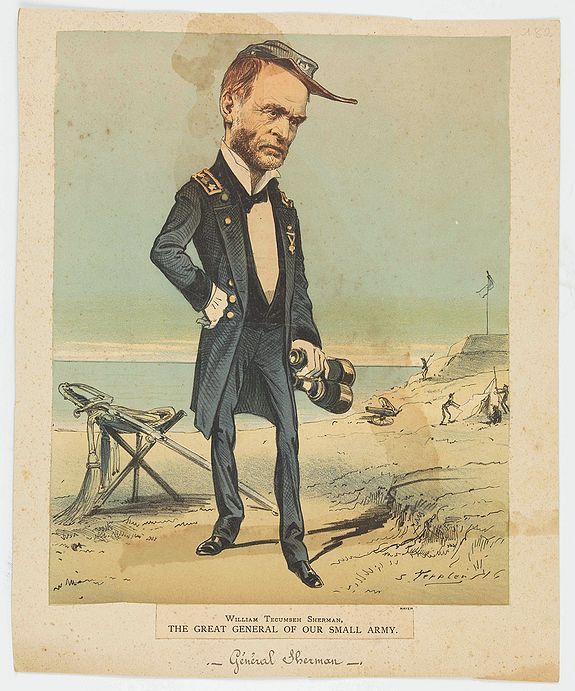 TEPPLEN, S. -  William Tecuseh Sherman The Great General of our small army.