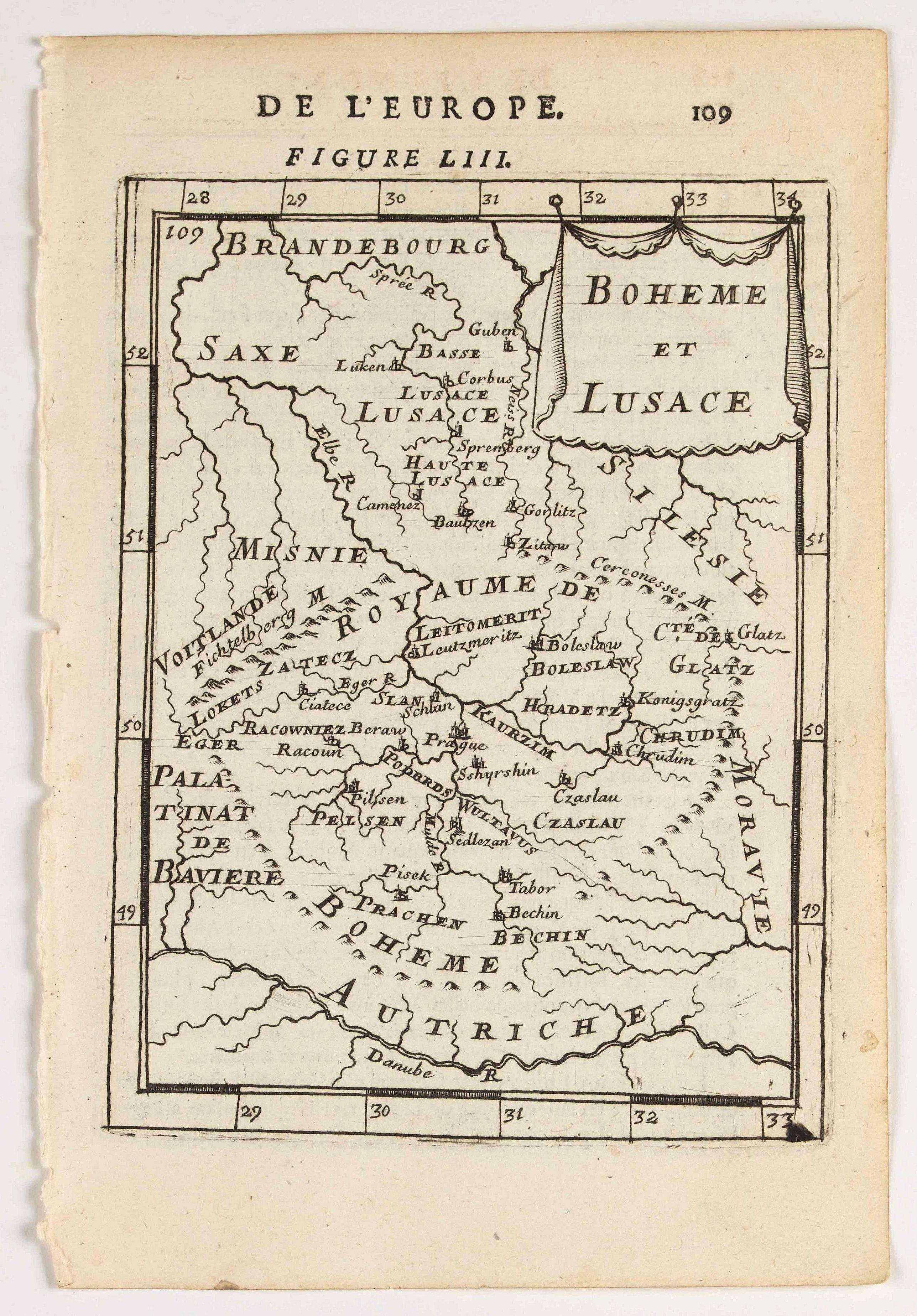 MANESSON MALLET, A. -  Boheme et Lusace.