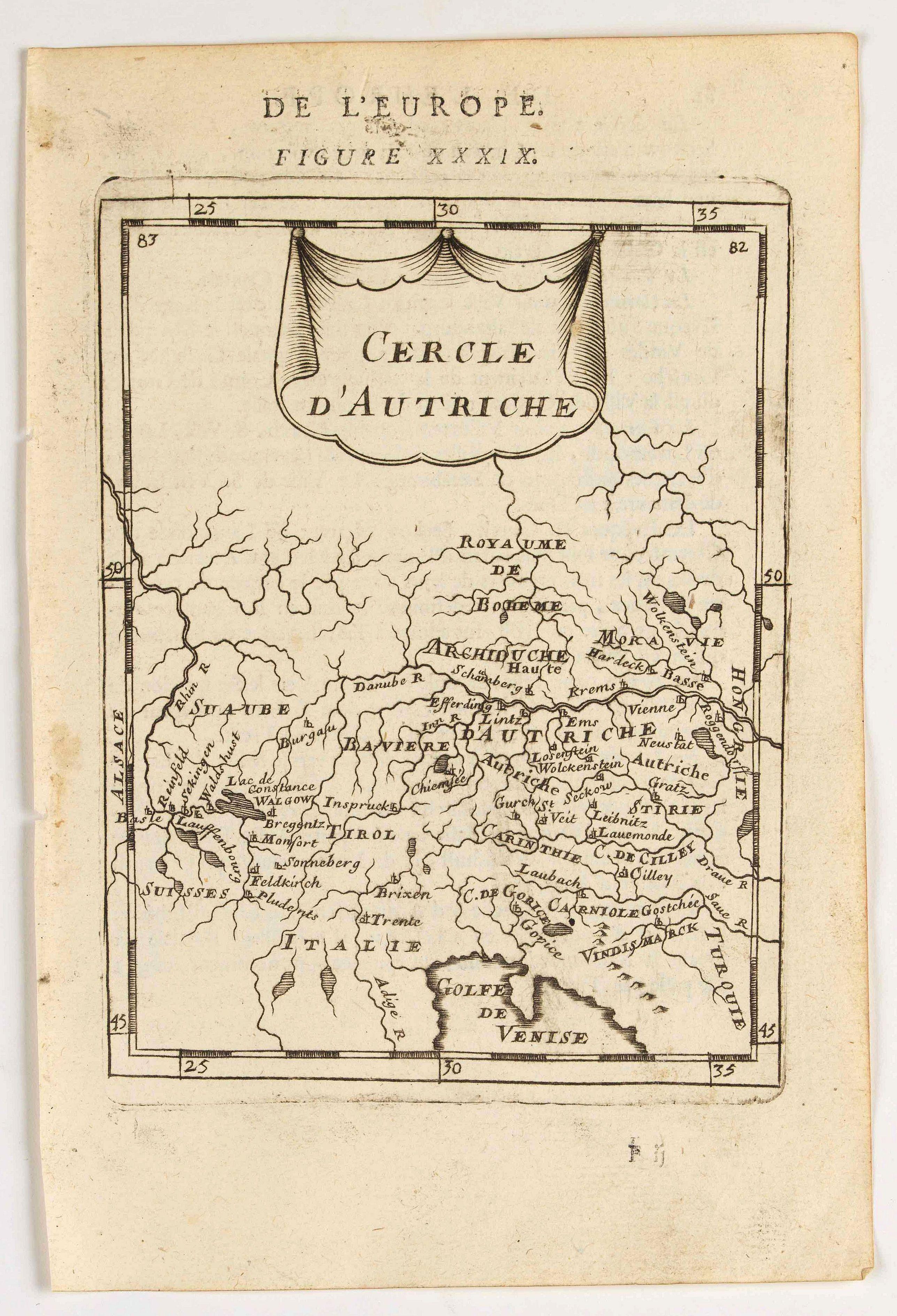 MANESSON MALLET, A. -  Cercle d'Autriche.