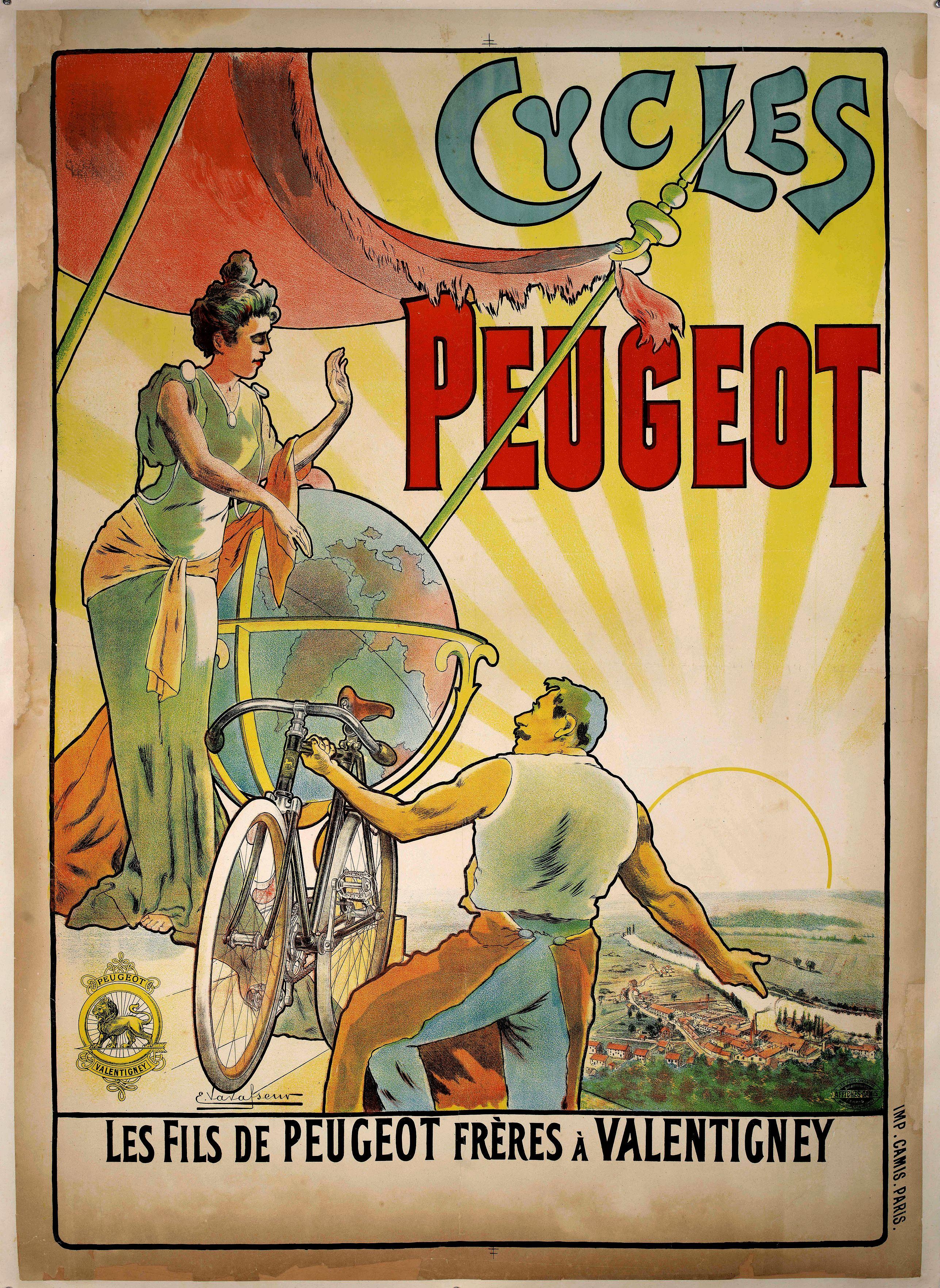 VAVASSEUR, E. -  Cycles Peugeot.