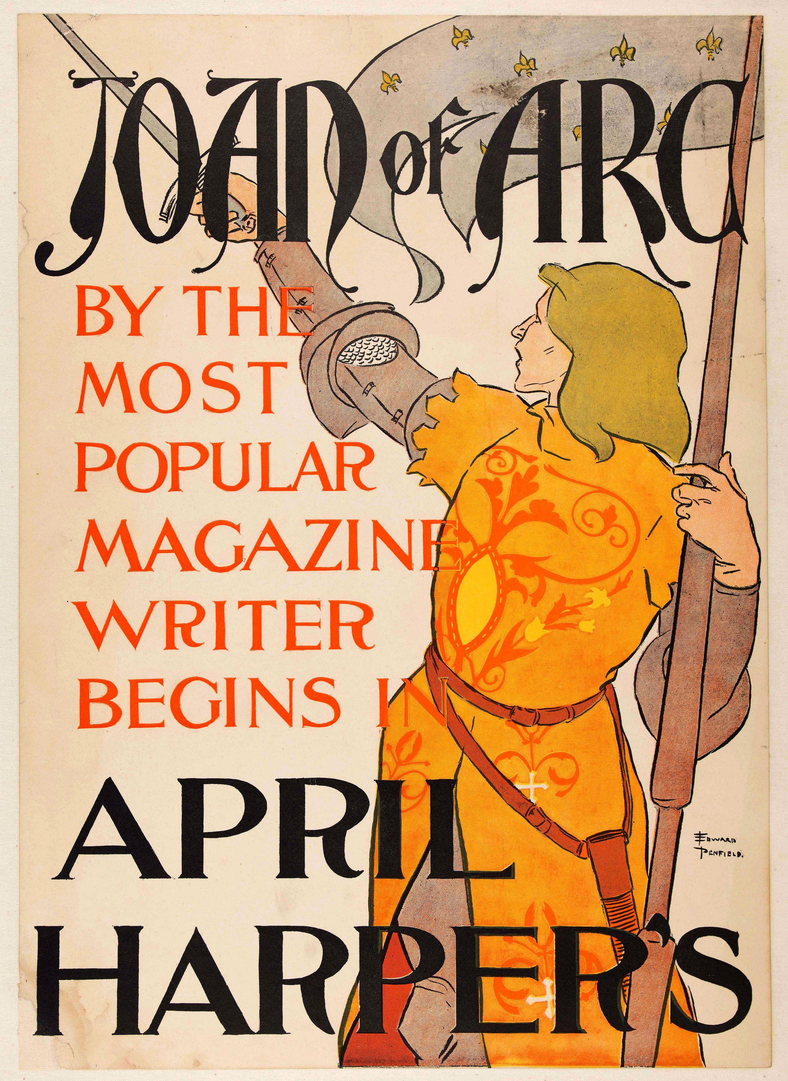 PENFIELD, E. -  Joan of Arc […] April Harper's.