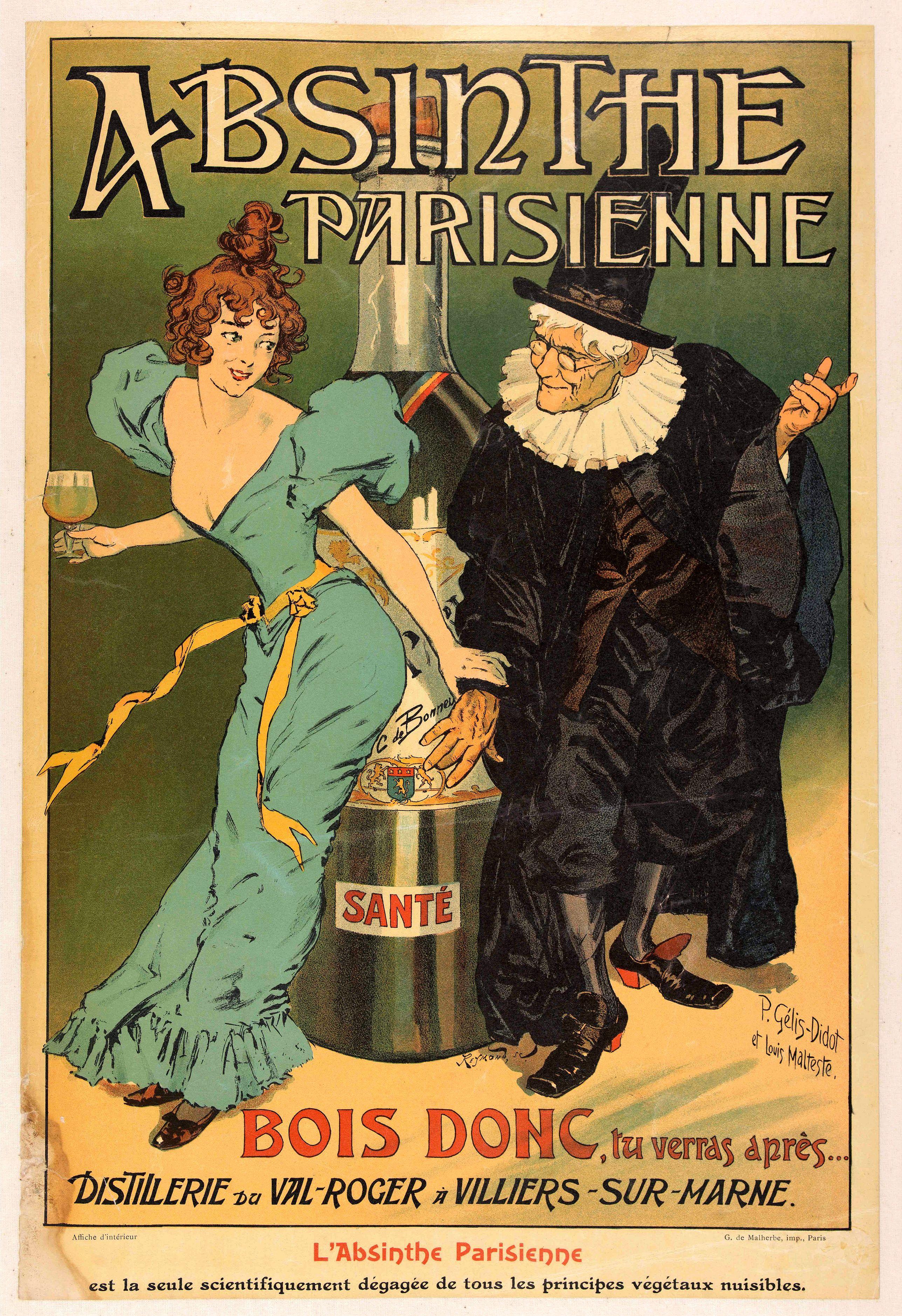 MALTESTE, L. / GELIS-DIDOT, P. -  Absinthe Parisienne.