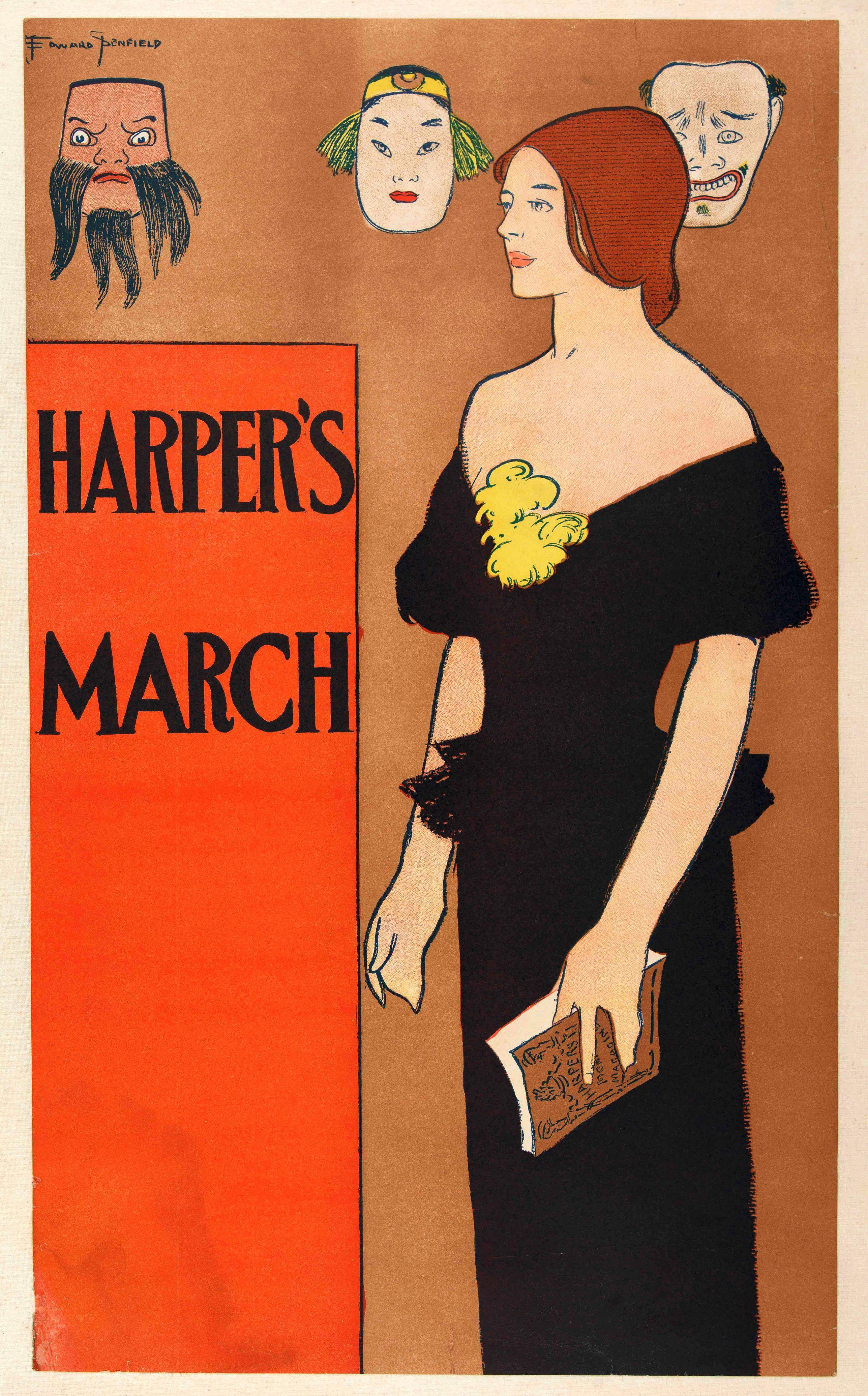 PENFIELD, E. -  Harper's March.