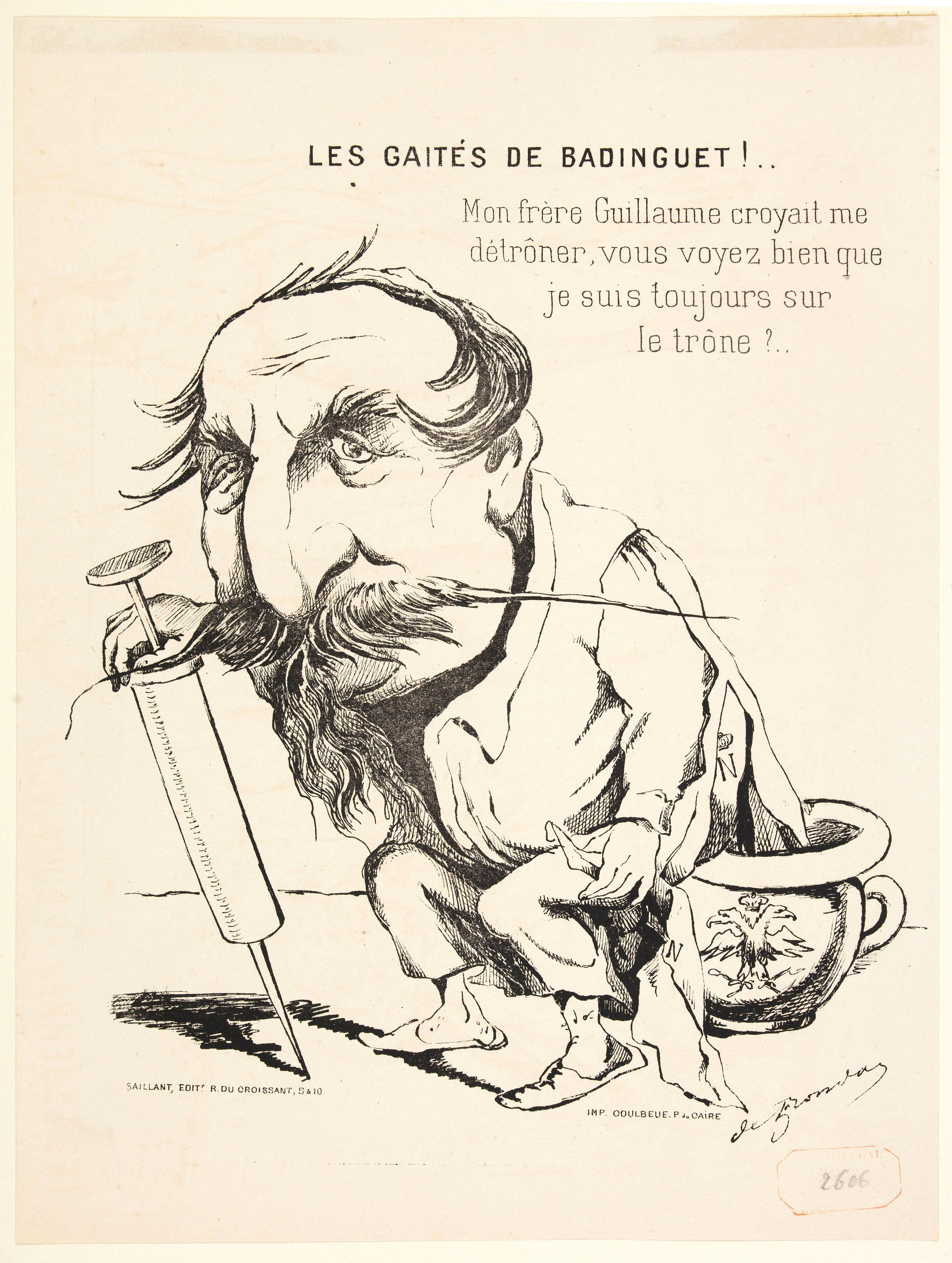 SAILLANT. -  Les Gaites de Badinguet!. . . [The Gaieties of Badinguet !]