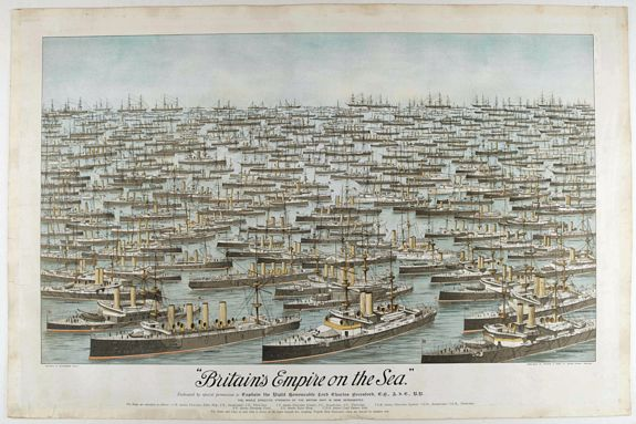 JOGHNSON & LOGAN -  Britain's Empire on the Sea. Dedicated to Captain the Right Honourable Lord Charles Beresford…