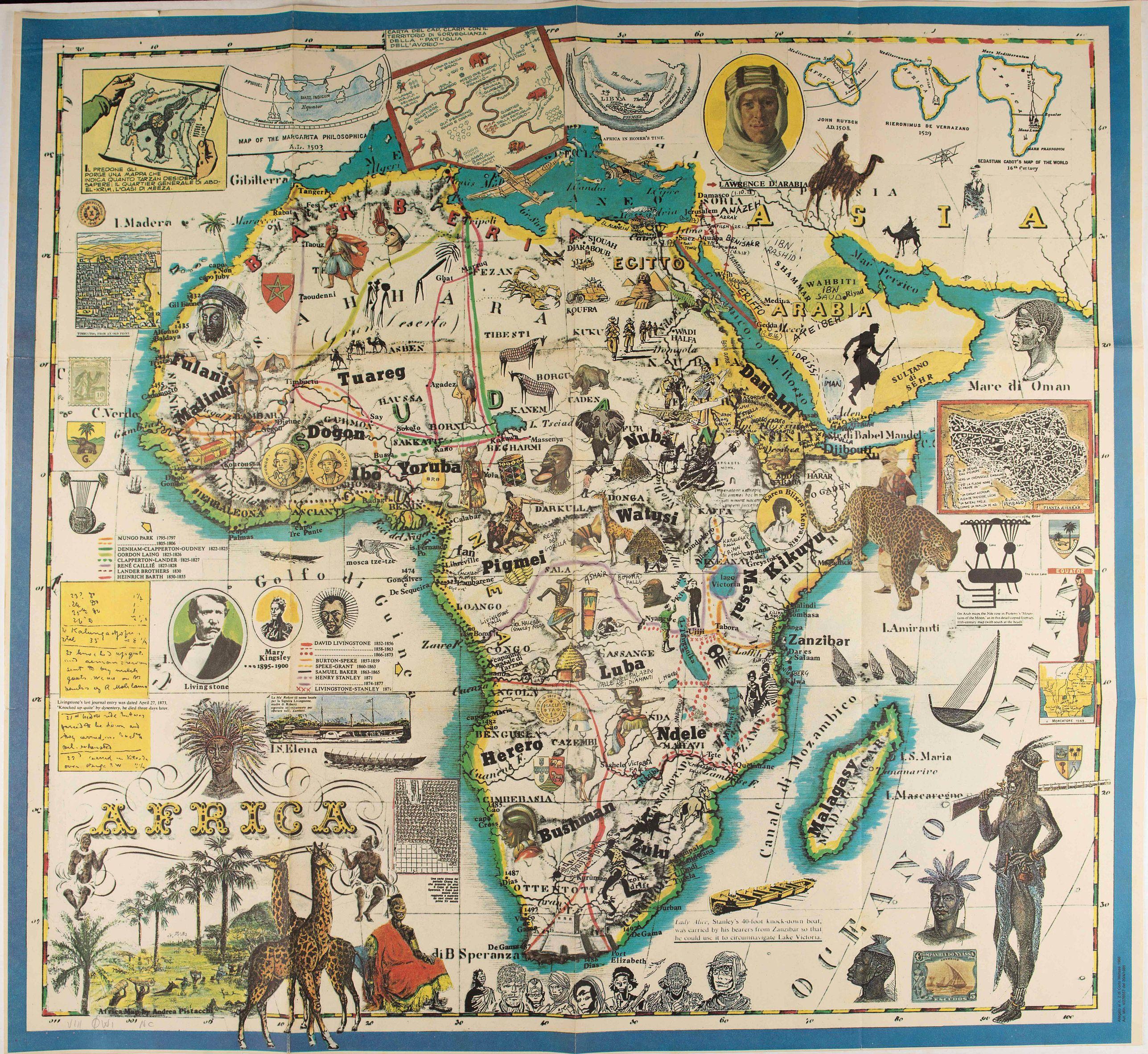 ALLEGATO CORTO MALTESSE - Africa.