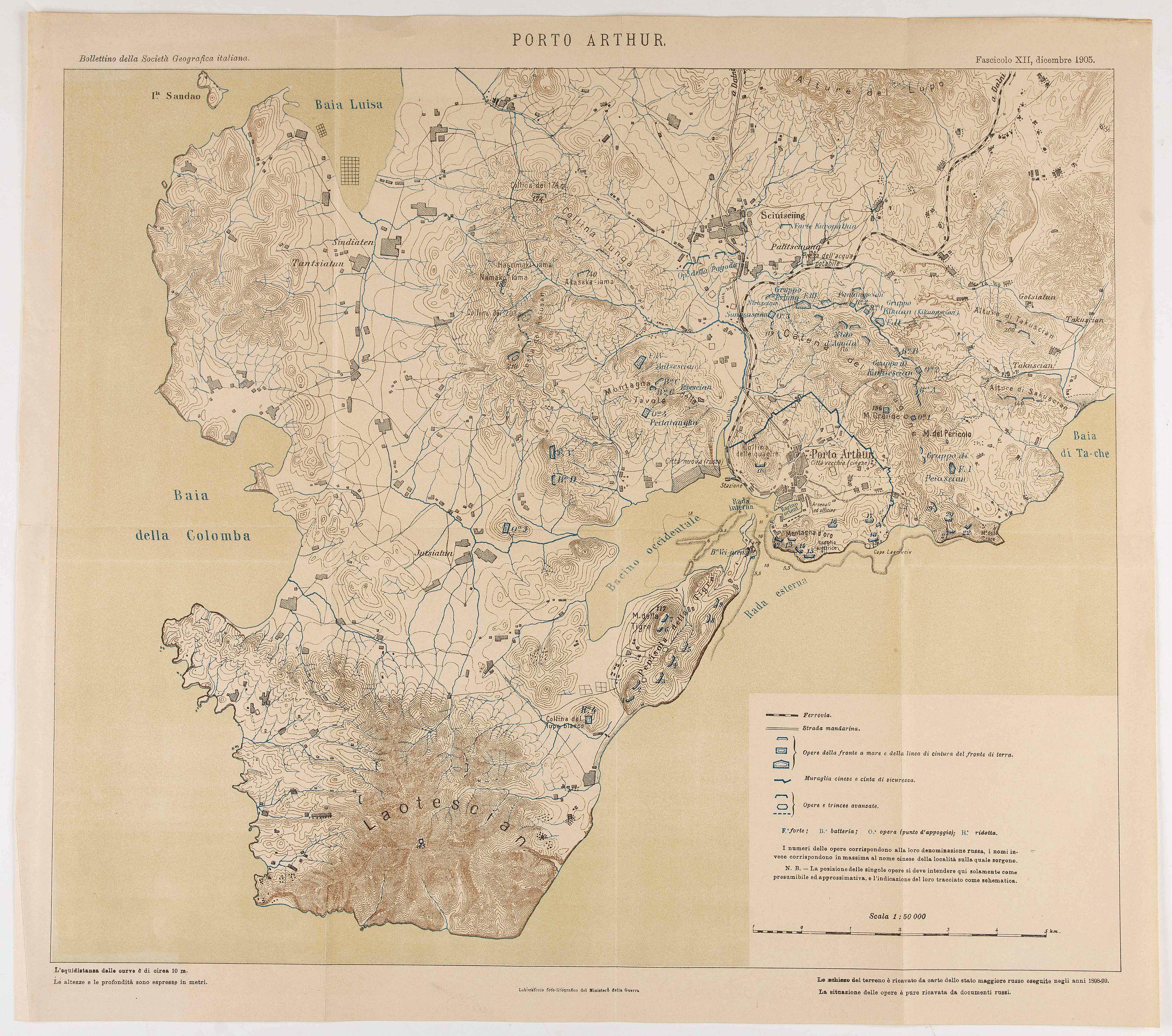 MINISTERIO DE LA GUERRA - Porto Arthur.