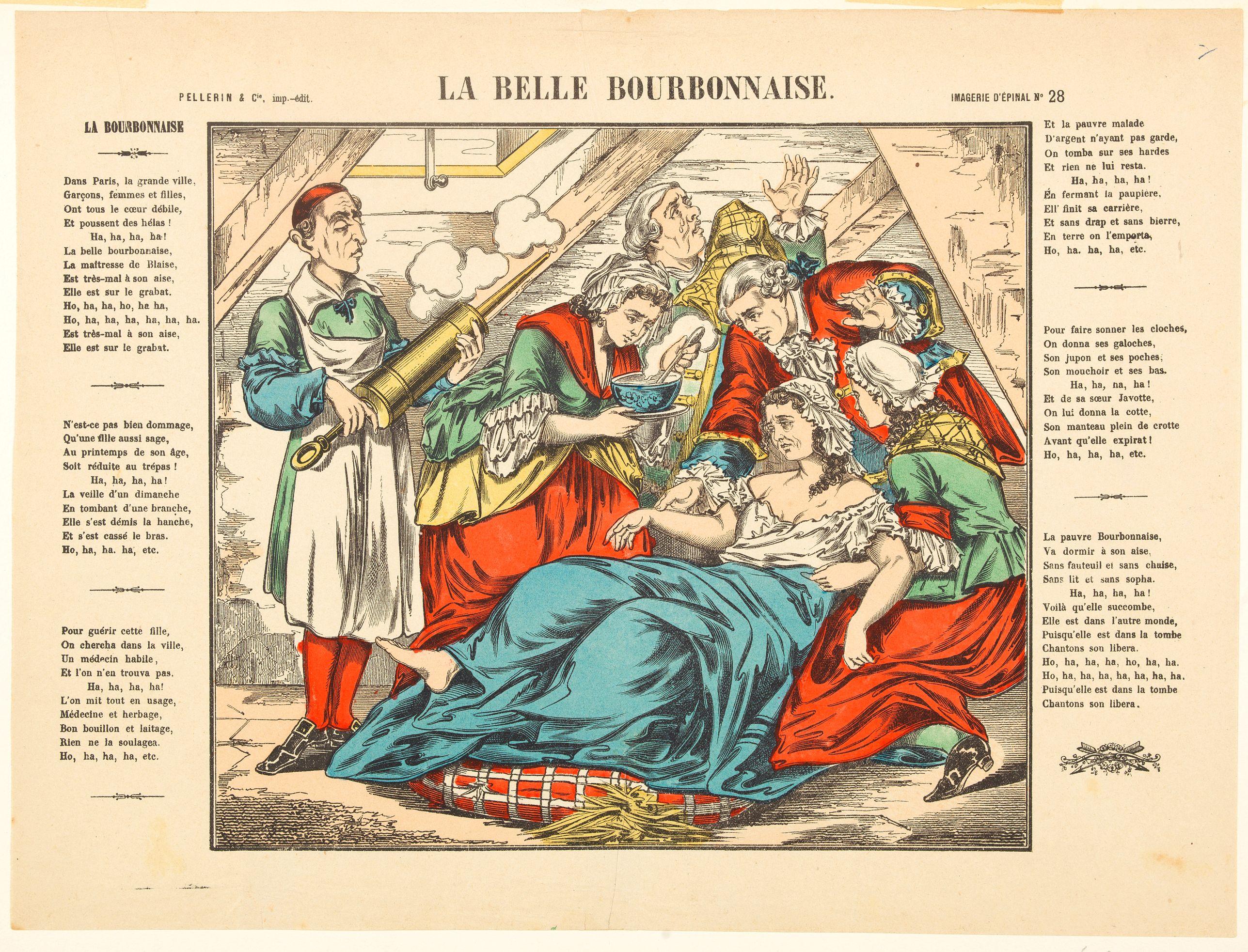 PELLERIN & CO. -   La Belle Bourbonnaise.