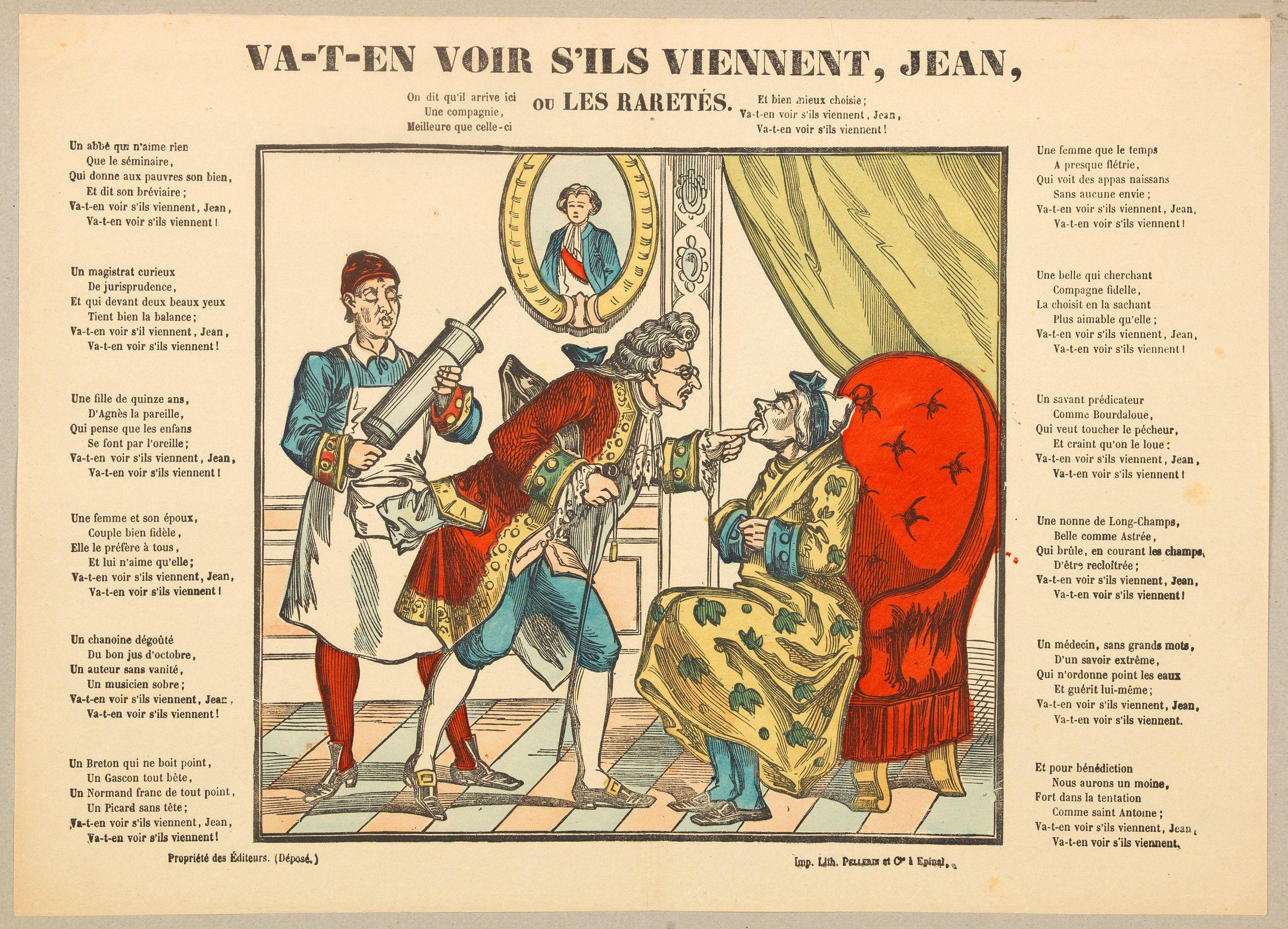 PELLERIN & Co. -  Va-t'en-voir s'ils viennent, Jean, ou Les Raretes.