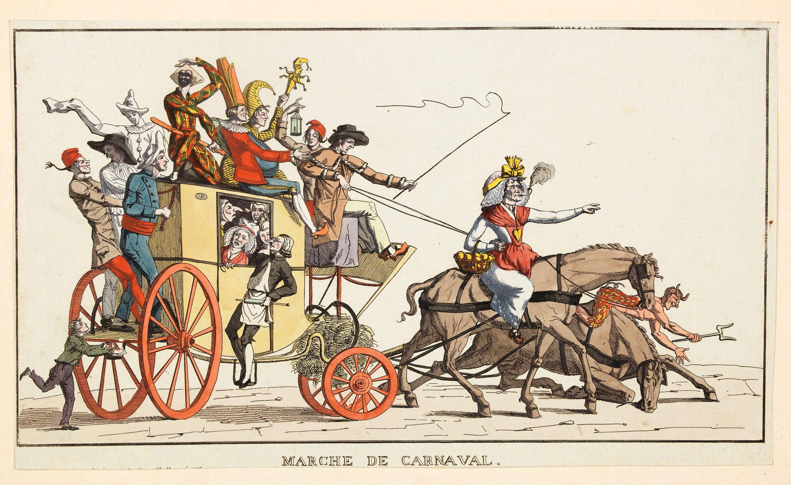 CHARON. -  Marche de Carnaval. [Canival Walk]