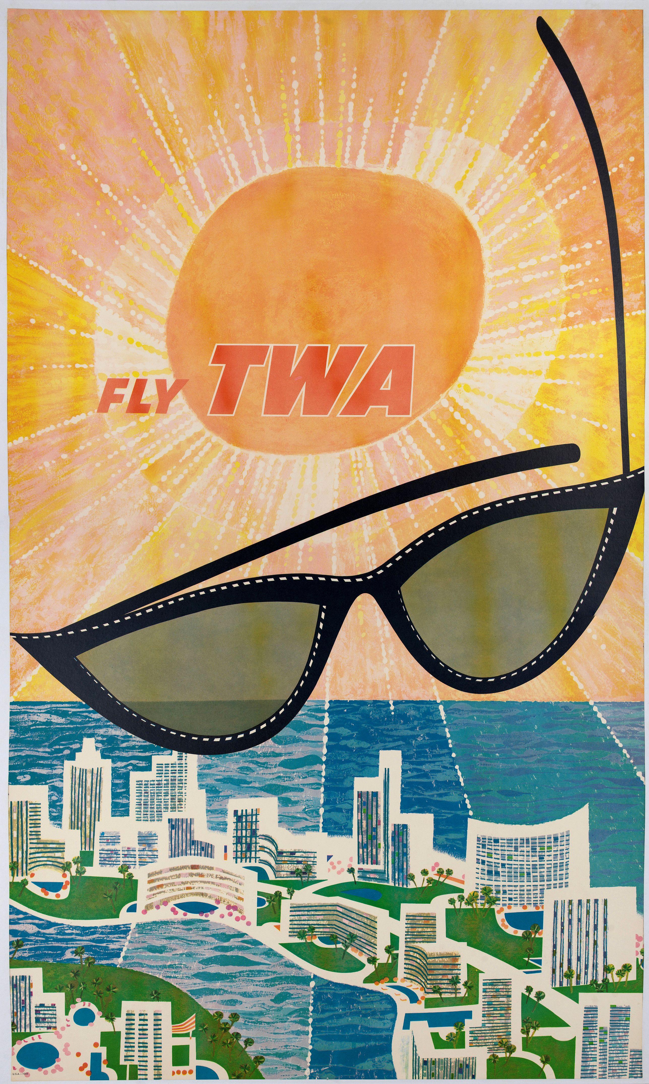 KLEIN, D. -  Fly TWA (Miami).