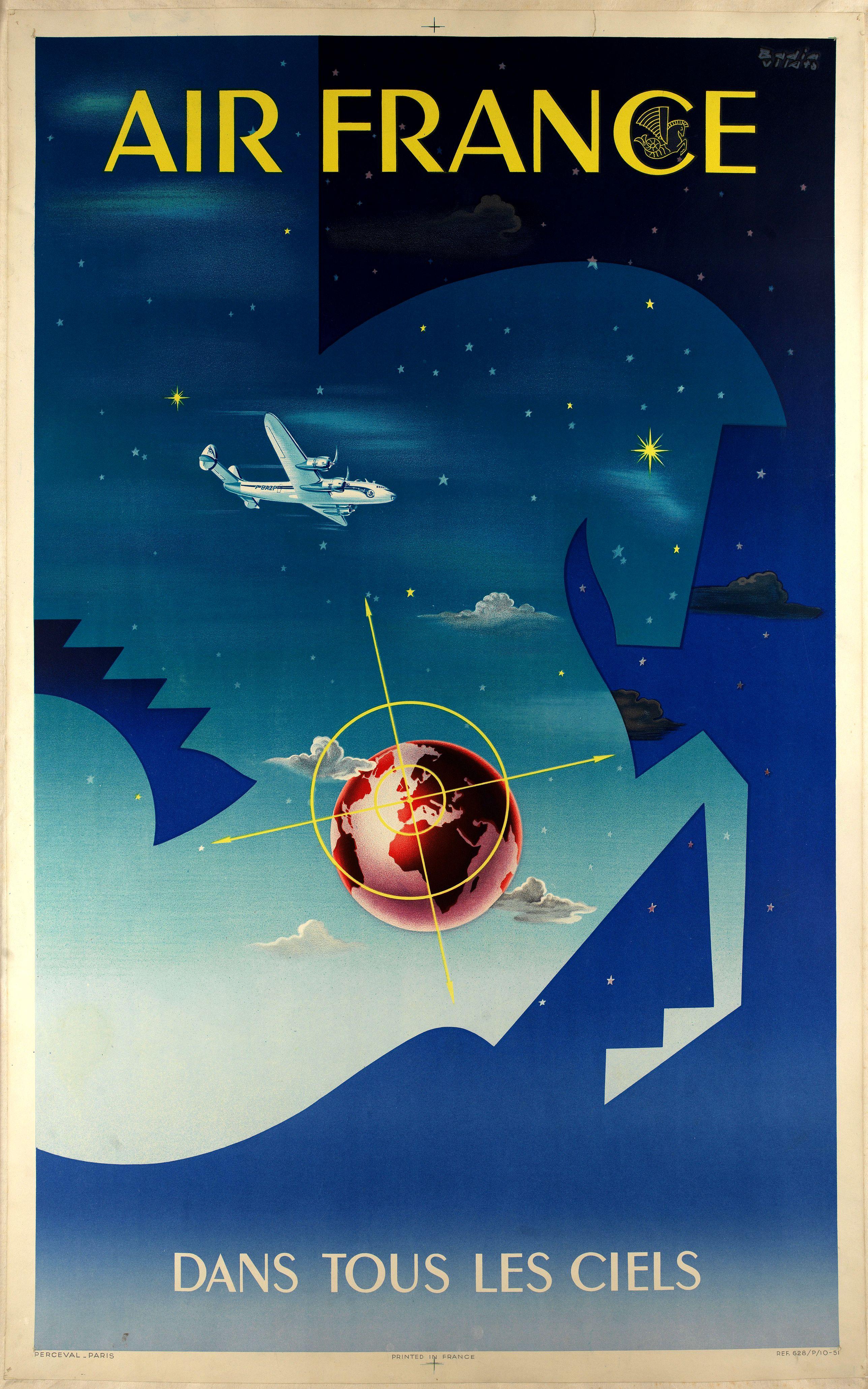 BADIA VILATO, X. -  Air France dans tous les ciels.