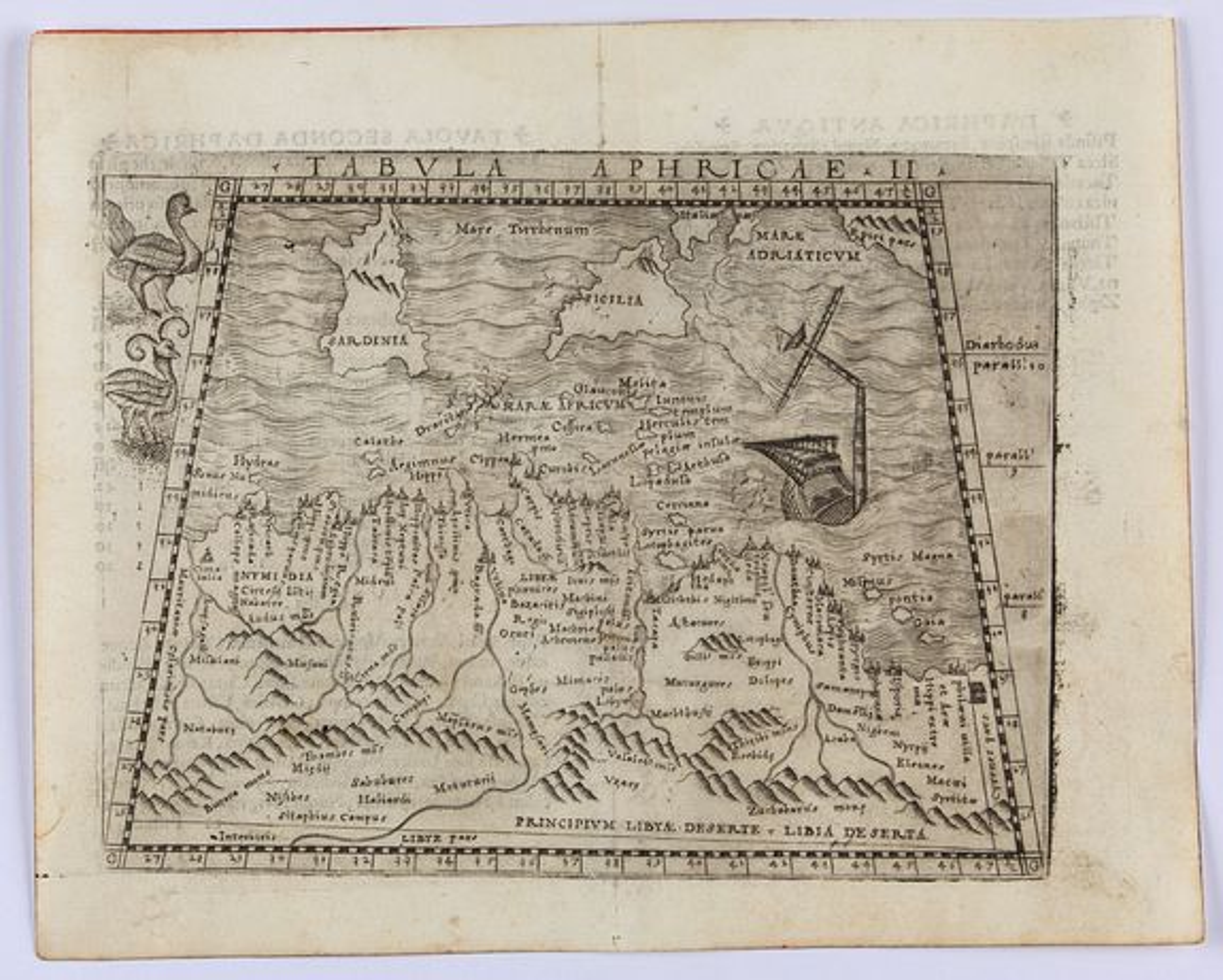 GASTALDI, G. -  Tabula Aphricae II.