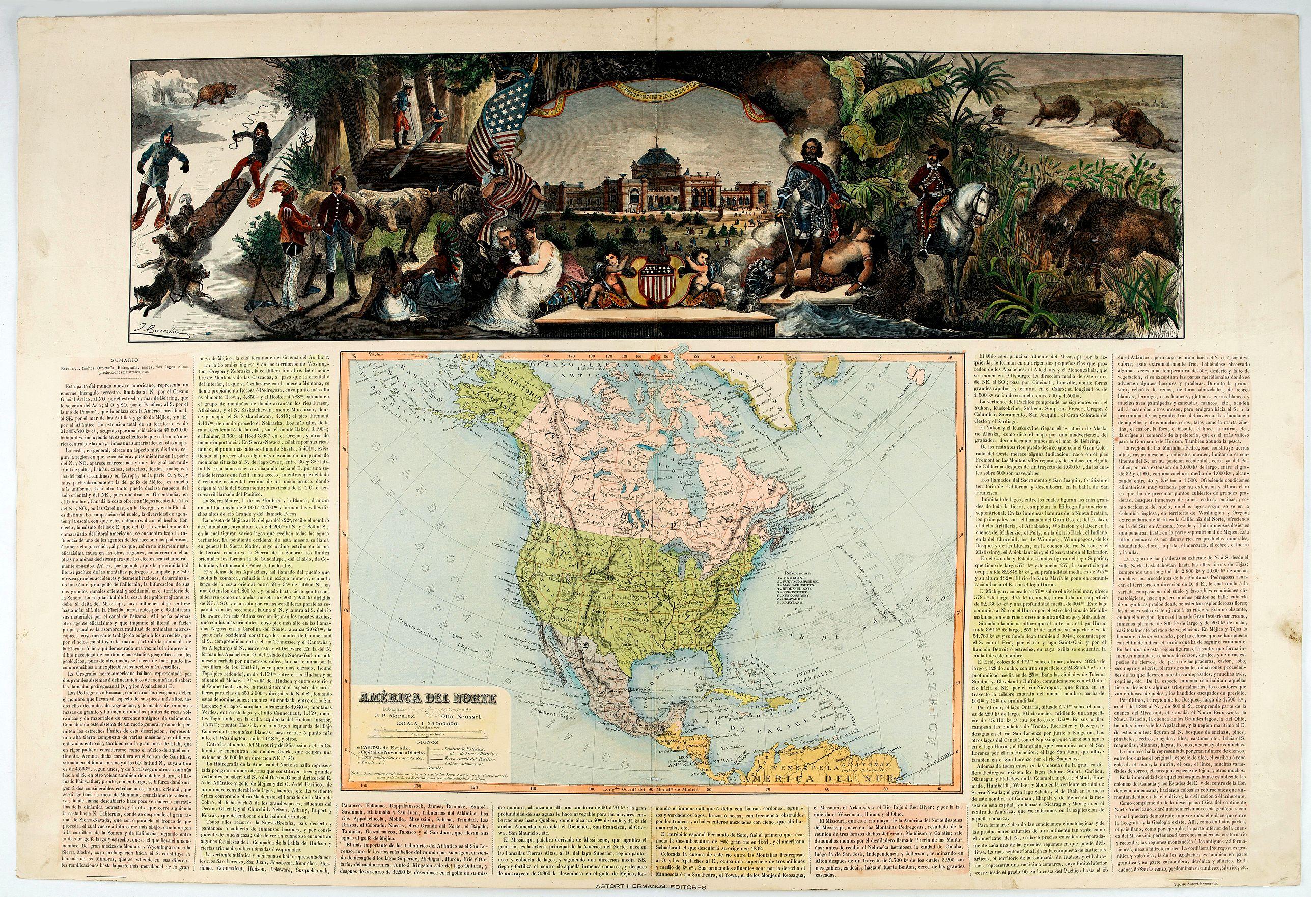 ASTORT HERMANOS EDITORES -  América del Norte.