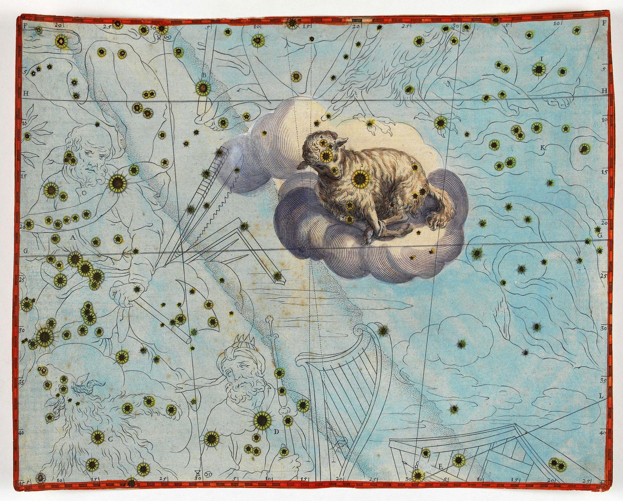 BAYER, J. -  [Constellation Agnus]
