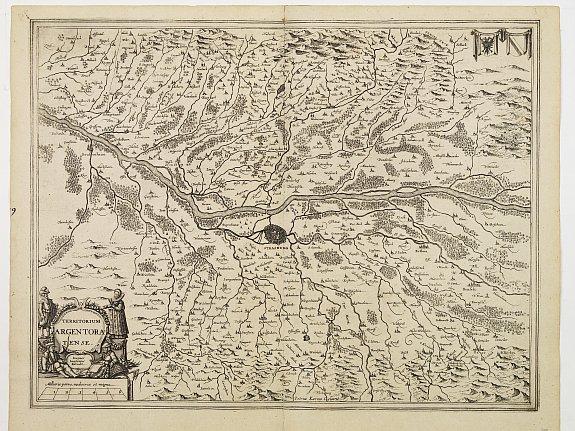 JANSSONIUS, J. -  Territorium Argentoratense.