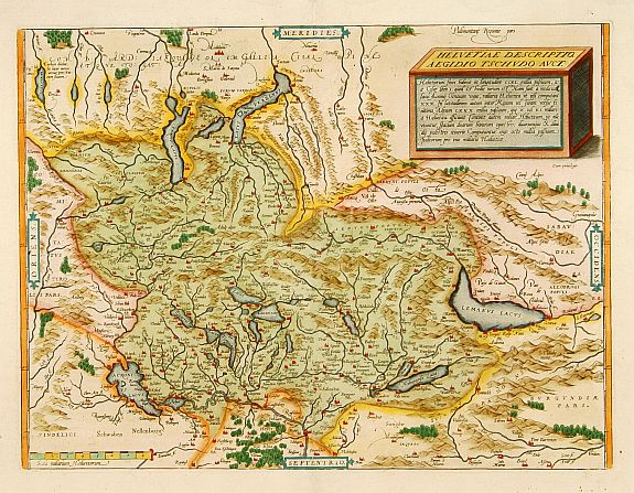 ORTELIUS, A. -  Helvetiae descriptio.
