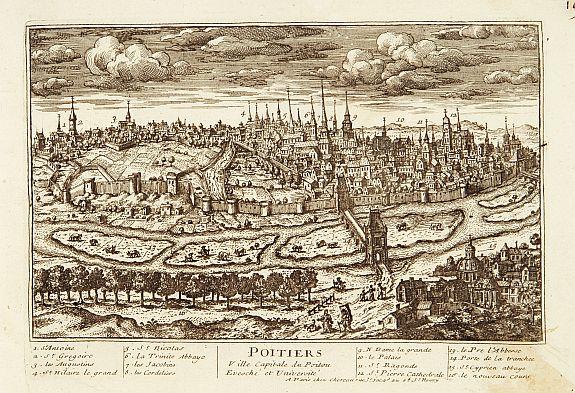 CHEREAU. -  Poitiers Ville Capitale du Poitou.